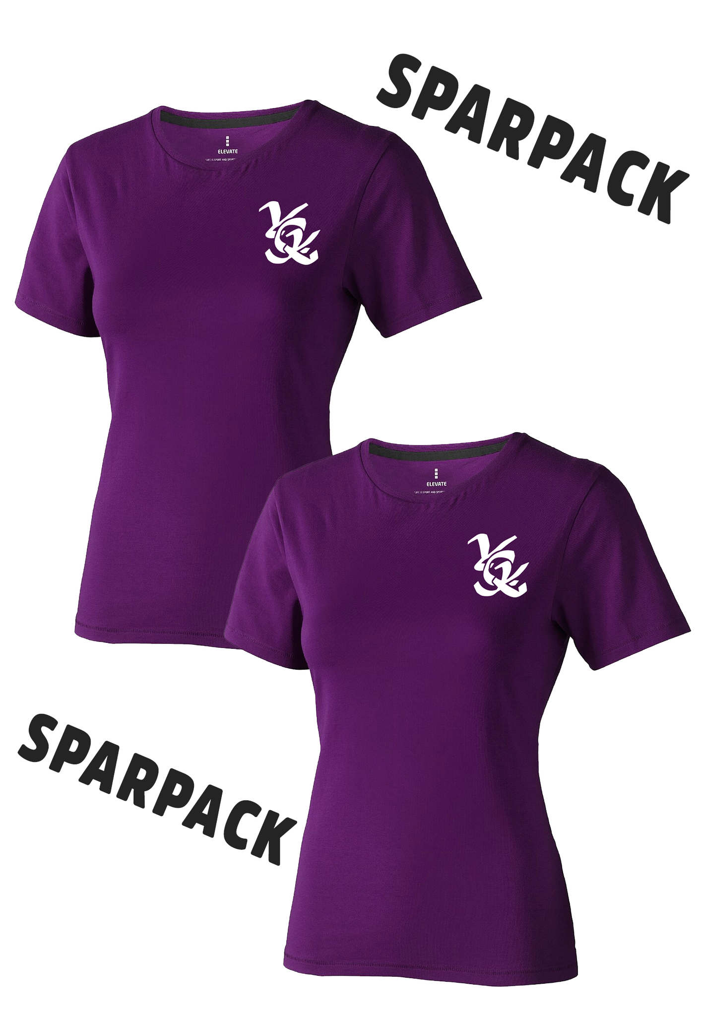 SPARPACK: 2 T-Shirts Ladies