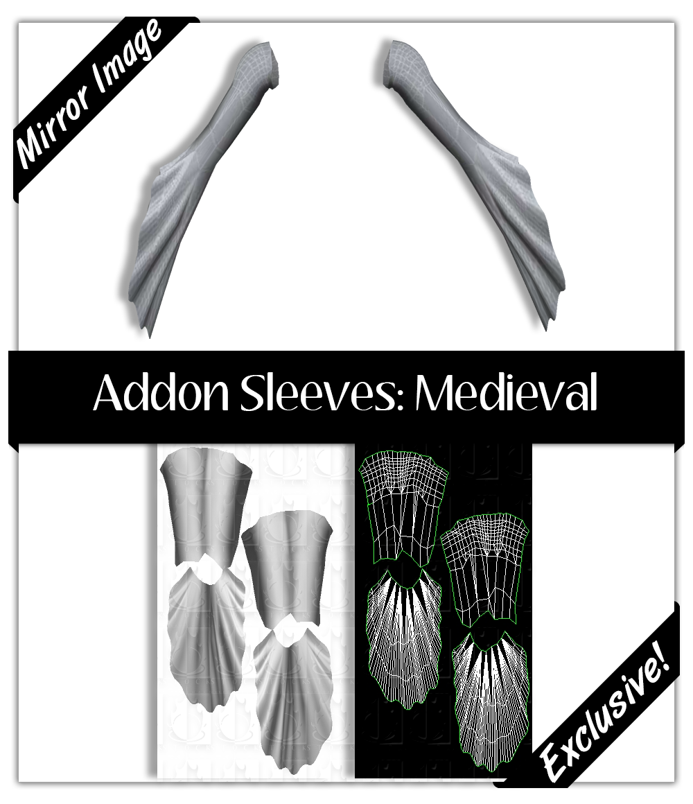 Basic Sleeves:  Medieval