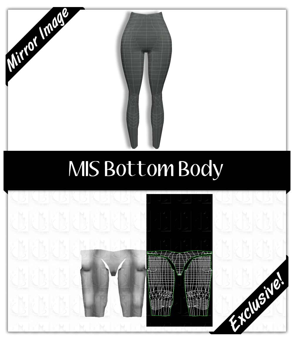 Basic Mesh: Bottom Body