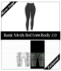 Basic Mesh 2.0: Bottom Body