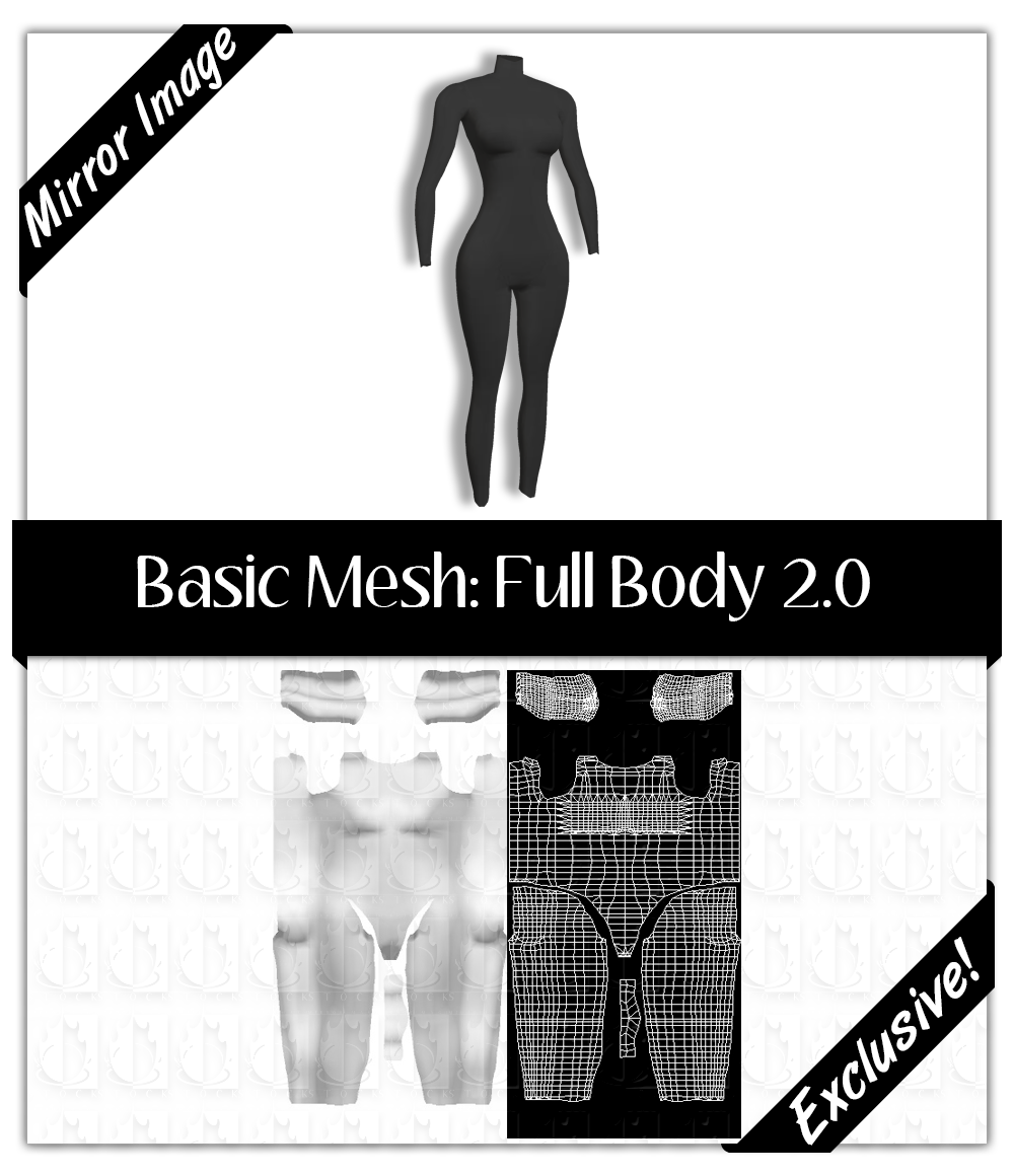 Basic Mesh 2.0: Full Body