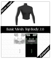 Basic Mesh 2.0: Top Body
