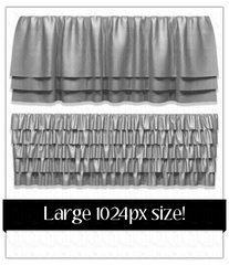 5 Skirt Fold .png Files Pack 3