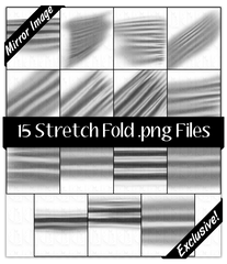 15 Stretch Fold .png Files