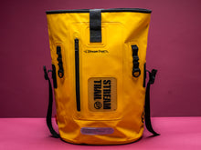 Dry Tank 25L yellow roll top unisex backpack