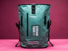 Dry Tank 25L mint roll top unisex backpack