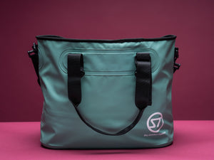 Marche mint roll top unisex shoulder bag