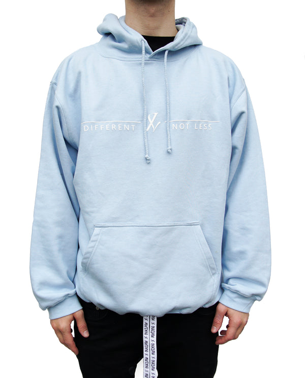 """DIFFERENT NOT LESS"" HOODIE"