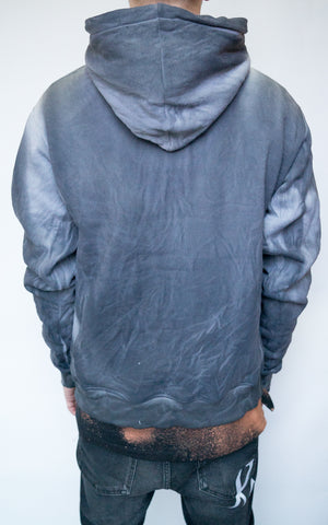 DYED HOODIE - CHARCOAL