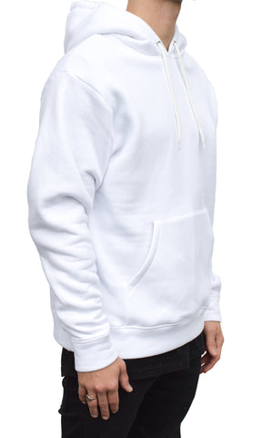 ESSENTIAL HOODIE - OPTICAL WHITE