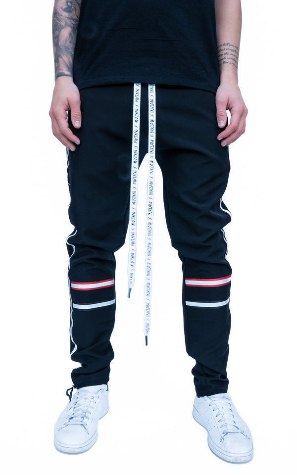 REFLECT STRIPED JOGGERS