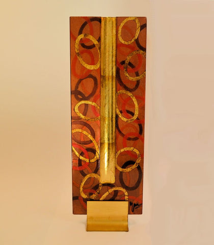 Golden Cinnamon Vase