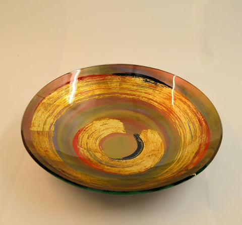 Golden Eye Red Swirl Scale 2