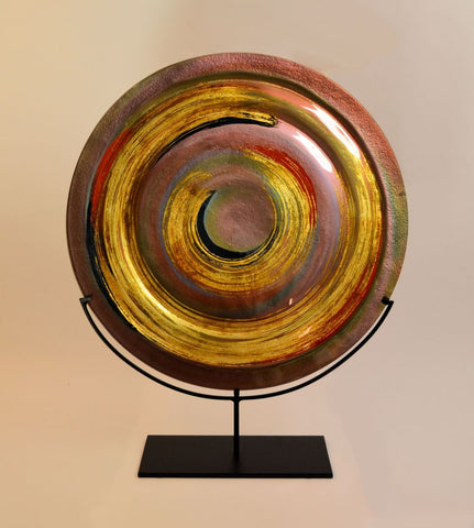 Golden Eye Red Swirl Scale