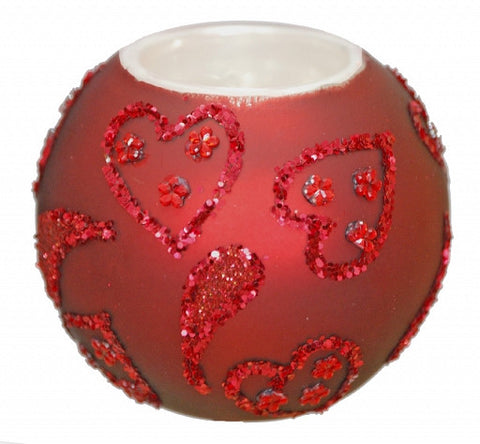 Red Candleholder