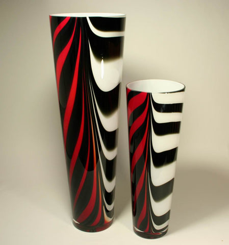 Zebra red white