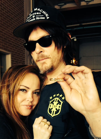 norman reedus jewelry love and madness