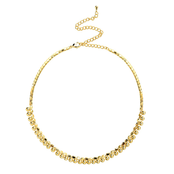 "Magic and Madness ""The Golden Nugget"" Choker 18k gold"