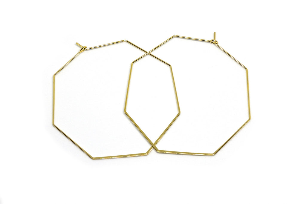 Love and Madness Stop Sign Hexagon Hoops