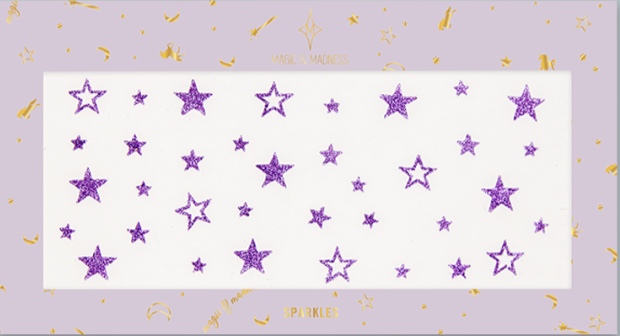 MAGIC and MANIFEST SPARKLES IN PURPLE