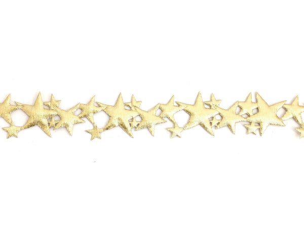 Love and Madness Lucky Star Choker available in metallic gold or silver