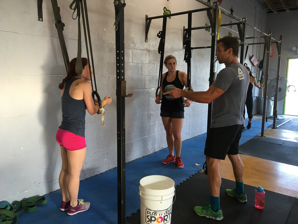 False Grips Muscle Up Clinics