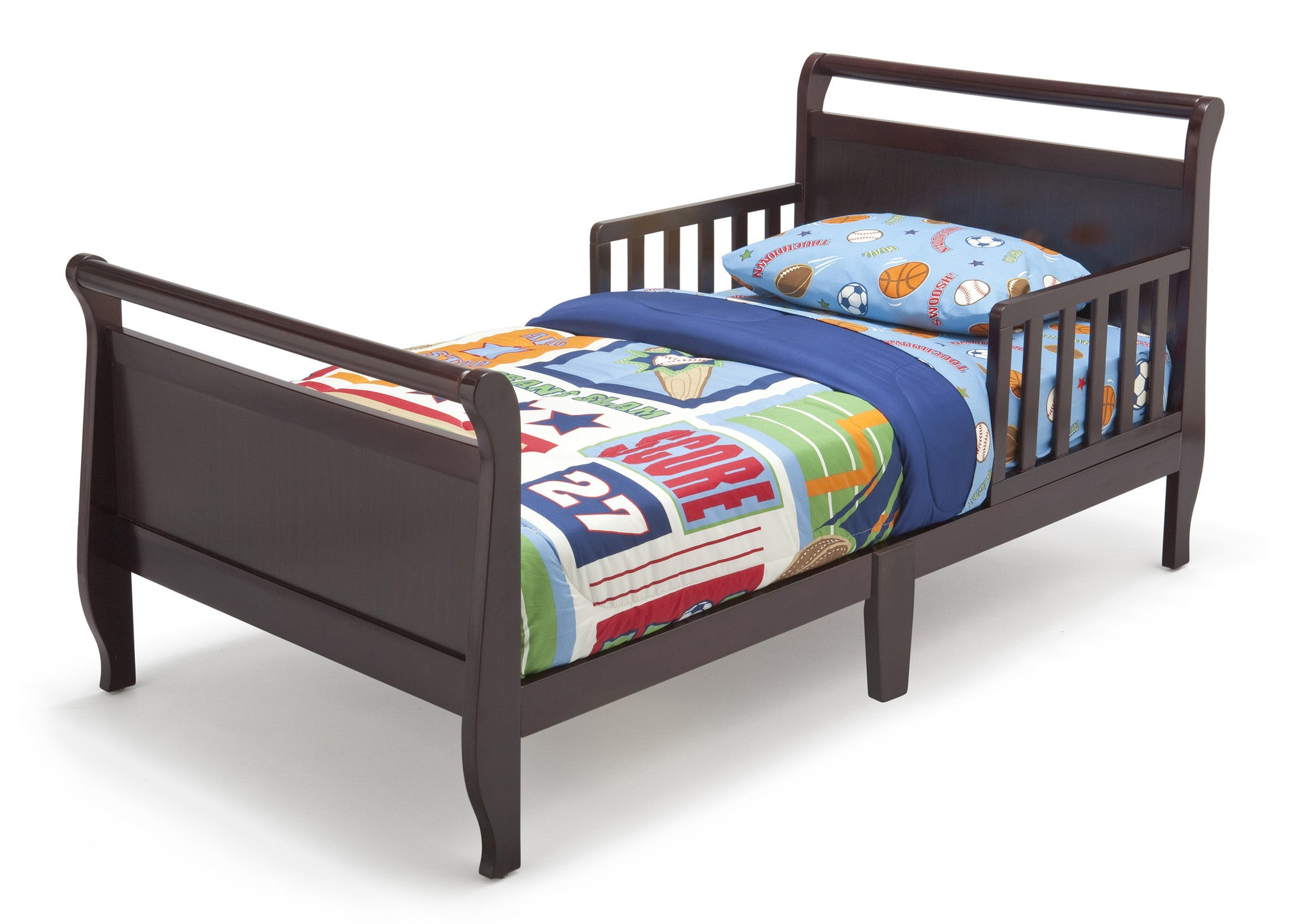 Contemporary Toddler Bed Deltaplayground