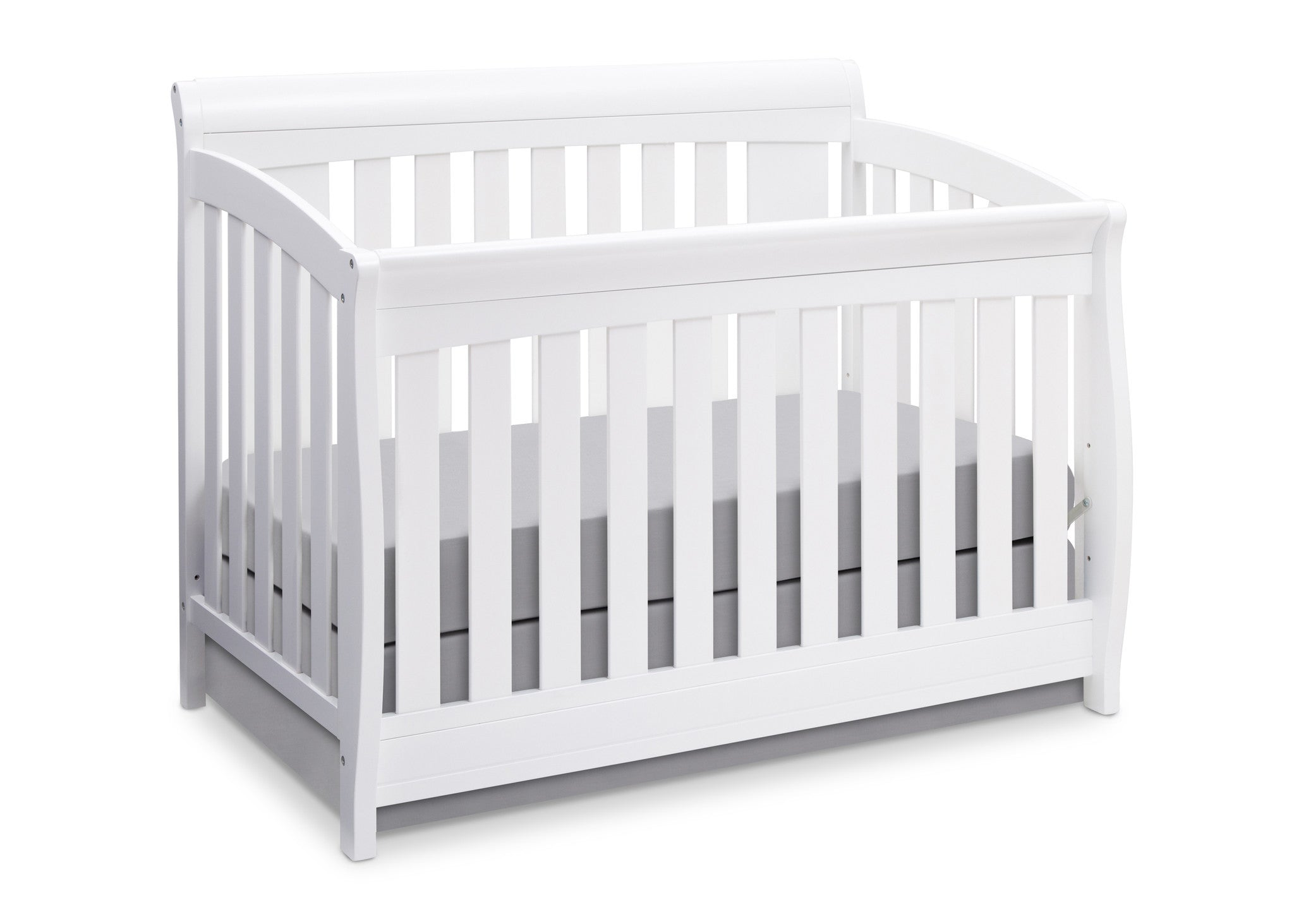 jpma zone products safety by baby powered crib white gateway in