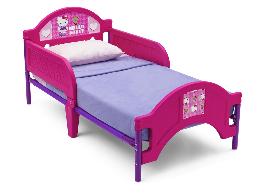 Picture of: Hello Kitty Plastic Toddler Bed Deltaplayground