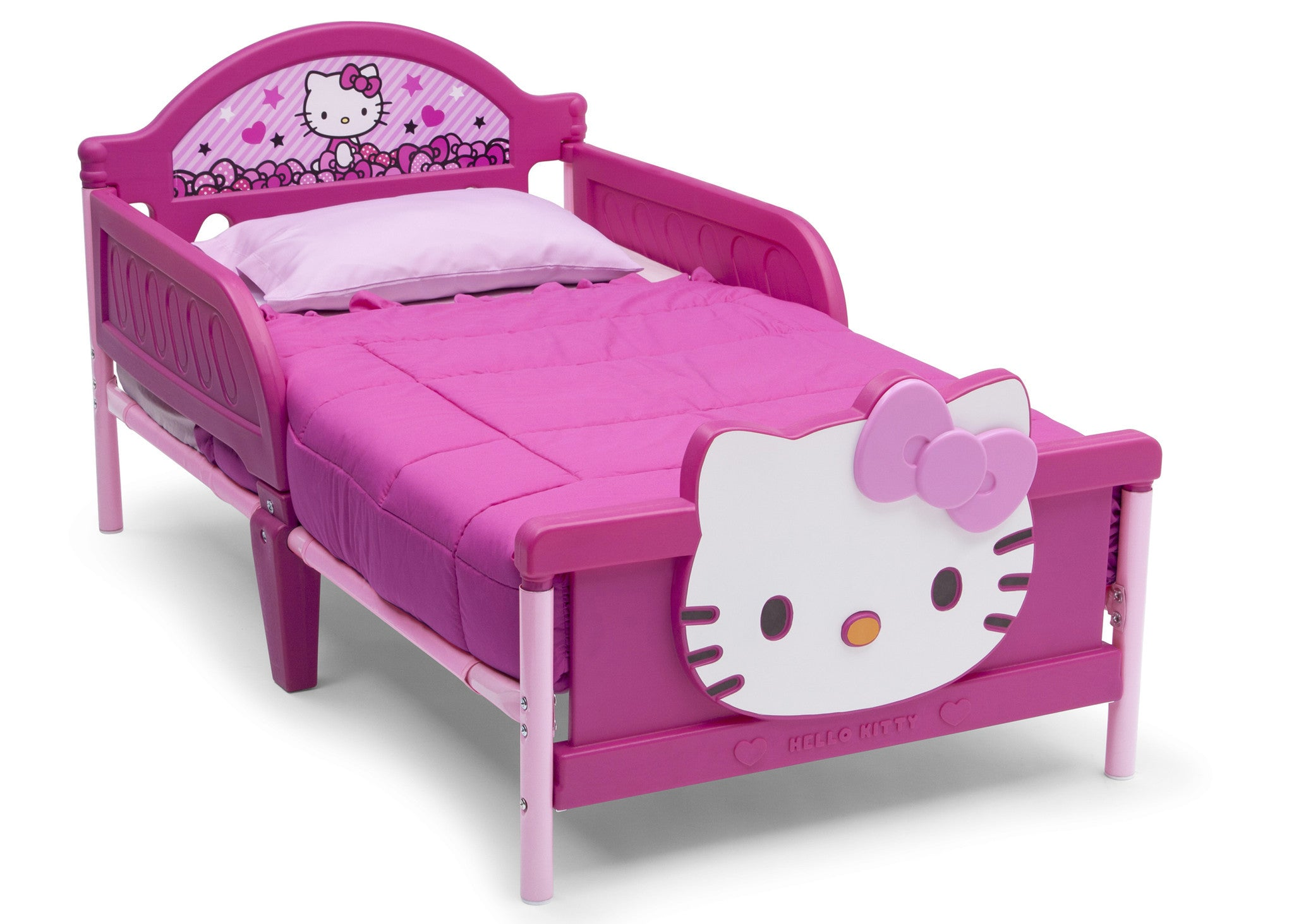 Hello Kitty Plastic 3d Toddler Bed Deltaplayground