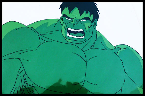 The Incredible Hulk Animation Cels