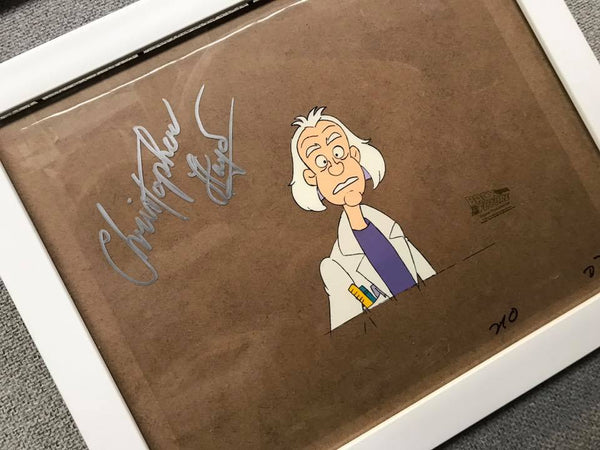 Signed Back to the Future Original Animation Cel - no.1701