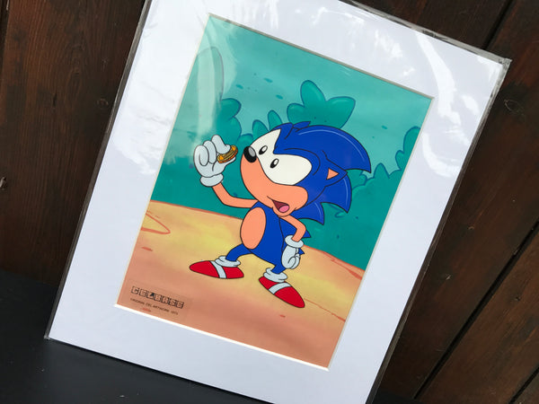Sonic The Hedgehog Original Animation Cel - no.1573