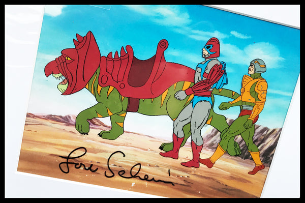 Signed He-Man and the Master of the Universe Original Animation Cel - no.1476