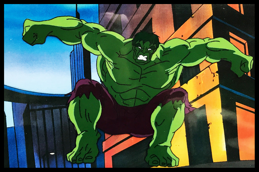 The Incredible Hulk Original Animation Cel - no.1413