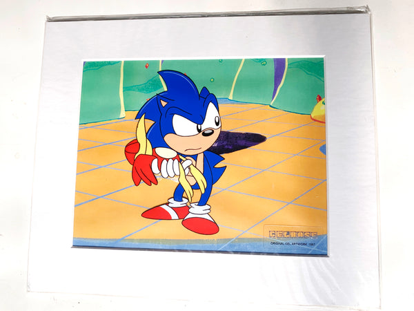 Sonic The Hedgehog Original Animation Cel - no.1567