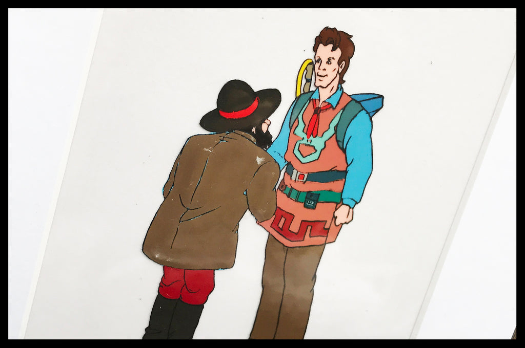 The 'Real' Ghostbusters Original Animation Cel - no.0346