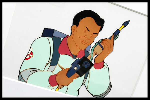 The 'Real' Ghostbusters Original Animation Cel - no.0725