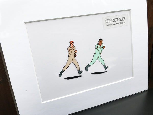 The 'Real' Ghostbusters Original Animation Cel - no.0322