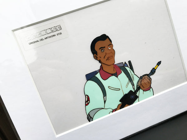 The 'Real' Ghostbusters Original Animation Cel - no.0728