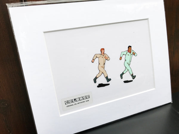 The 'Real' Ghostbusters Original Animation Cel - no.0336