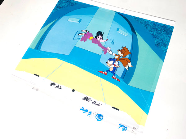Sonic The Hedgehog Original Animation Cel - no.1638