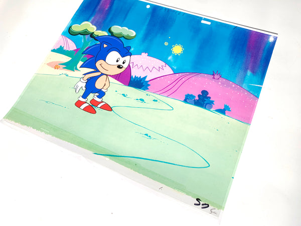 Sonic The Hedgehog Original Animation Cel - no.1636