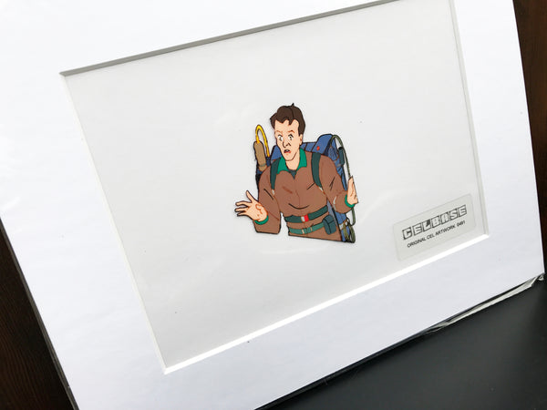 The 'Real' Ghostbusters Original Animation Cel - no.0491