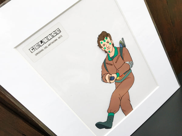 The 'Real' Ghostbusters Original Animation Cel - no.0572