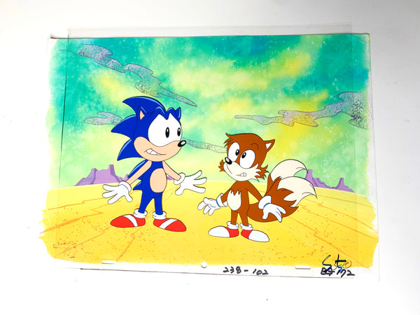 Sonic The Hedgehog Original Animation Cel - no.1628