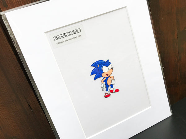 Sonic The Hedgehog Original Animation Cel - no.1565