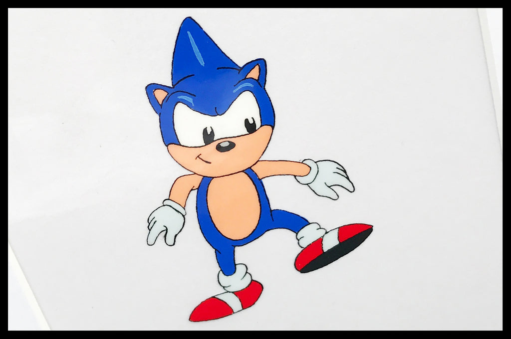 Sonic The Hedgehog Original Animation Cel - no.1305