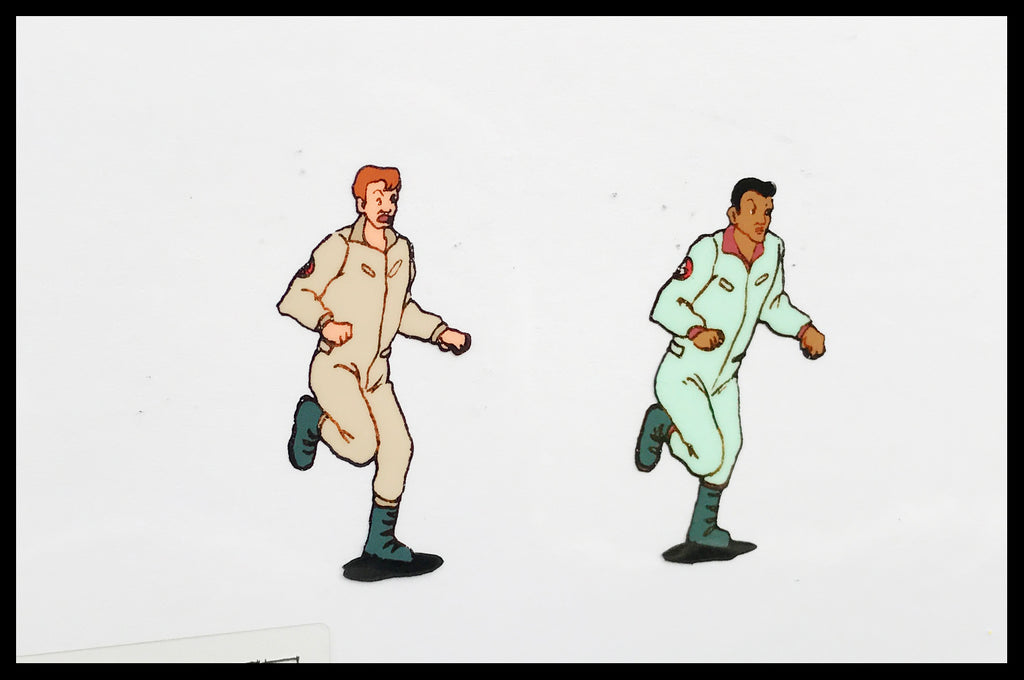 The 'Real' Ghostbusters Original Animation Cel - no.0339
