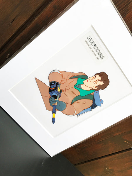 The 'Real' Ghostbusters Original Animation Cel - no.0403
